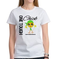 Lymphoma One Tough Chick Tee