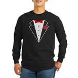 Funny Tuxedo [red bow] T