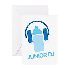 Junior Dj - Icon - Greeting Card