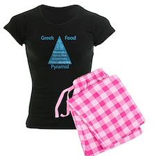 Greek Food Pyramid Pajamas
