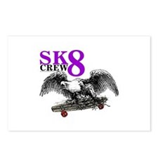 SK8 CREW 8 Postcards (Package of 8)