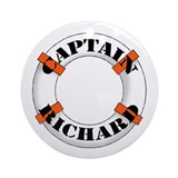 Captain Richard Ornament (Round)
