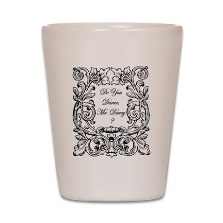 Jane Austen Gift Shot Glass