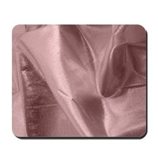Metallic Pink Fabric Mousepad