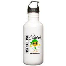 Kidney Cancer One Tough Chick Water Bottle