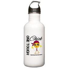 Head Neck Cancer OneToughChick Water Bottle