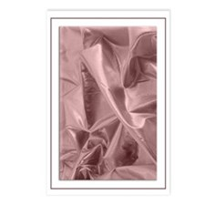Metallic Pink Fabric Postcards (Package of 8)