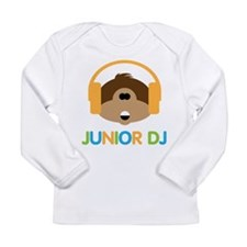 Junior Dj - Monkey - Long Sleeve Infant T-Shirt