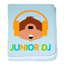 Junior Dj - Monkey - baby blanket