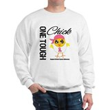 Breast Cancer One Tough Chick Sweatshirt