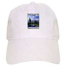 Mt Raineer National Park Baseball Cap