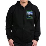 Mt Rainier National Park Zip Hoodie