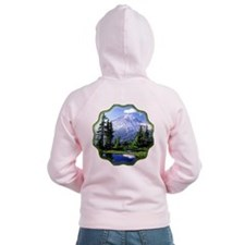 Mt Raineer National Park Zip Hoodie