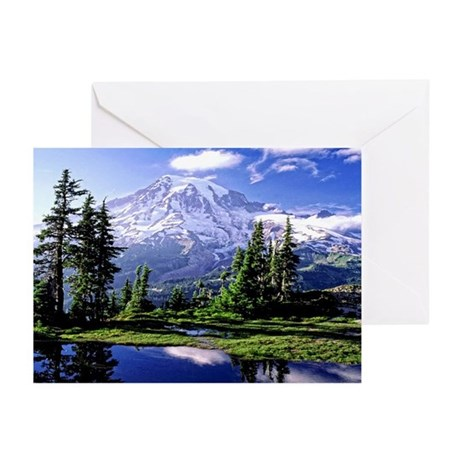 Mt Rainier National Park Greeting Cards (Pk of 20)