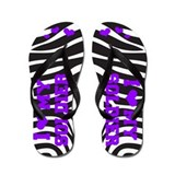 I love my Soldier (purple) Flip Flops