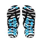 I love my Soldier (teal) Flip Flops