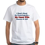 Czech Wife Knows It All Shirt