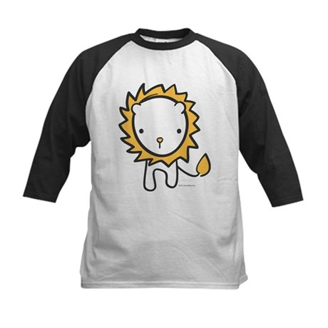Cuddly Lion Kids Baseball Jersey