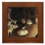 Edgar Degas Framed Tile
