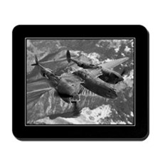 P38 Lightning Composite Mousepad