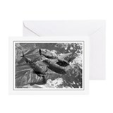 P38 Lightning Composite Greeting Cards (Package of