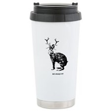 Jackalopes exist Ceramic Travel Mug