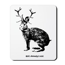 Jackalopes exist Mousepad