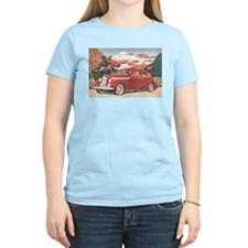 1940 Packard Women's Pink T-Shirt
