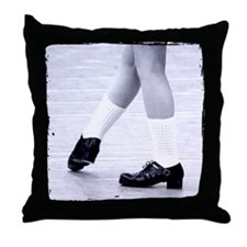 Ready & Now Go Irish Dance Throw Pillow