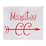 Manatee CC Throw Blanket