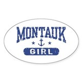 Montauk Girl Decal