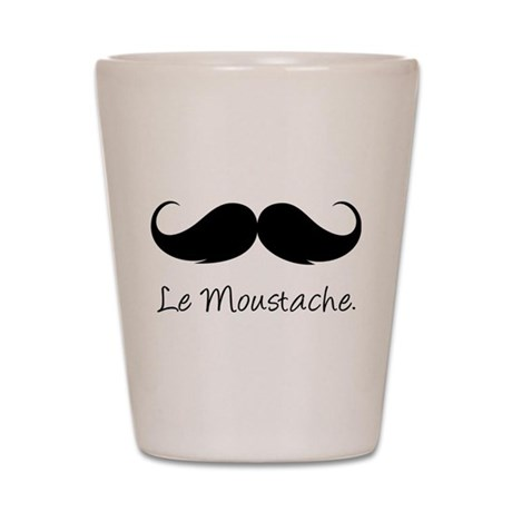 Le Moustache. Shot Glass