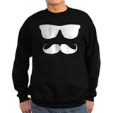 cool moustache Sweats