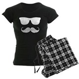 cool moustache pajamas