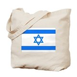 Israeli Flag Tote Bag