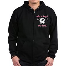 Pet Hard (Dog) Zip Hoodie