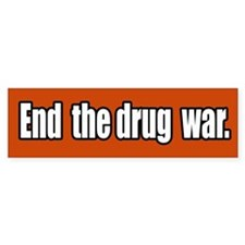 End the Drug War Bumper Bumper Sticker
