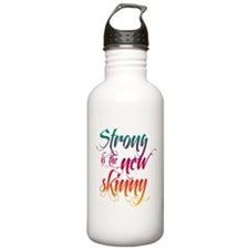 Strong is the New Skinny - Sc Water Bottle