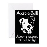 Adore-A-Bull 2! Greeting Cards (Pk of 10)