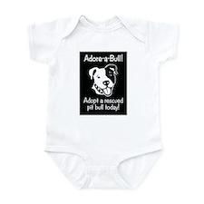 Adore-A-Bull 2! Infant Creeper