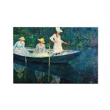 Claude Monet Rectangle Magnet