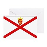 Jersey Flag Greeting Cards (Pk of 10)