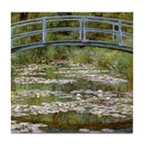 Claude Monet Tile Coaster