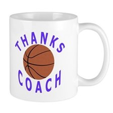 Thank You Basketball Coach Mug