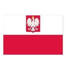 Flag of Poland Postcards (Package of 8)