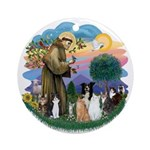 StFrancis2 / Ornament (Round)