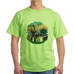 StFrancis2 / Green T-Shirt