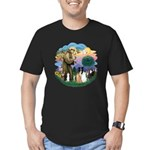 StFrancis2 / Men's Fitted T-Shirt (dark)