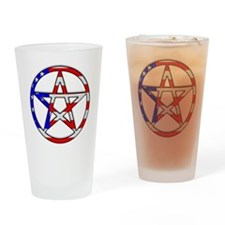 American Witch Drinking Glass