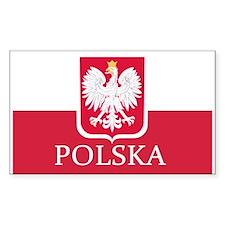 Polish Flag Decal